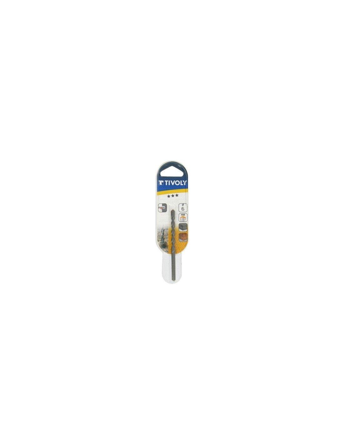 Tivoly 10900220400 Foret béton Pro Ø 04 mm