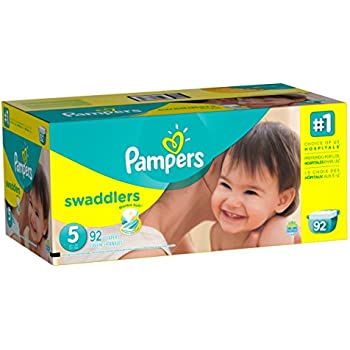 Amazon Com Pampers Swaddlers Disposable Diapers Size 5