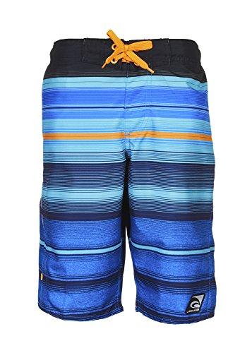 Laguna Boys Endless Summer Striped Board Short Blue Combo 14/16 by Laguna