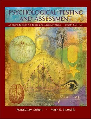 Tests and measurements in psychology