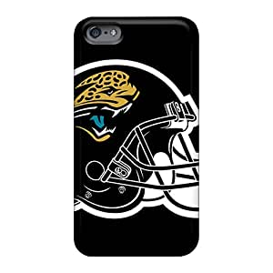 Perfect Hard Cell-phone Cases For Apple Iphone 6 Plus With Unique Design High Resolution Jacksonville Jaguars Pattern Allbestcases