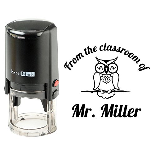 Round Self Inking Teacher Stamp (from The Classroom of)