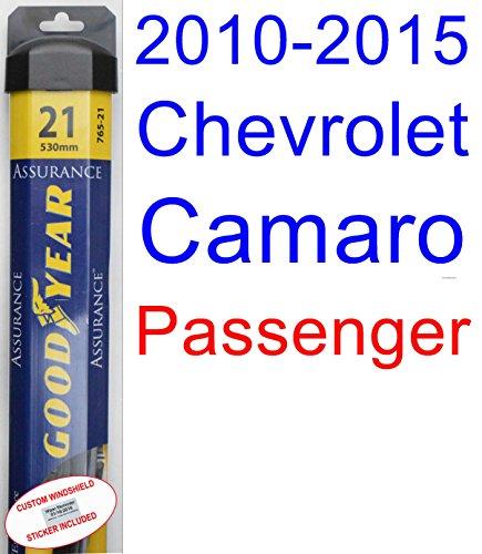 Chevrolet Camaro Wiper (2010-2015 Chevrolet Camaro Wiper Blade (Passenger) (Goodyear Wiper Blades-Assurance) (2011,2012,2013,2014))