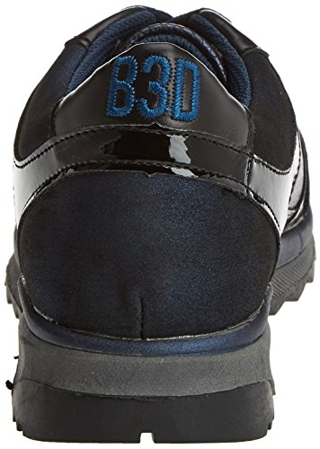 Navy Navy Damen Blau Sneaker bass3d 041350 f7XqIv