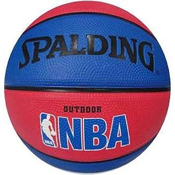 Spalding NBA Mini bola, rojo/azul: Amazon.es: Deportes y aire libre