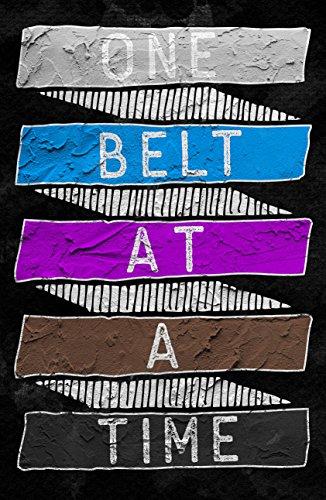 Damdekoli One Belt Motivational Jiu Jitsu Poster, 11x17 Inches, BJJ, Art Print for Brazilian Jujitsu by Damdekoli