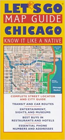 Let\'s Go Map Guide Chicago (Let\'s Go Map Guides): 9780312151614 ...