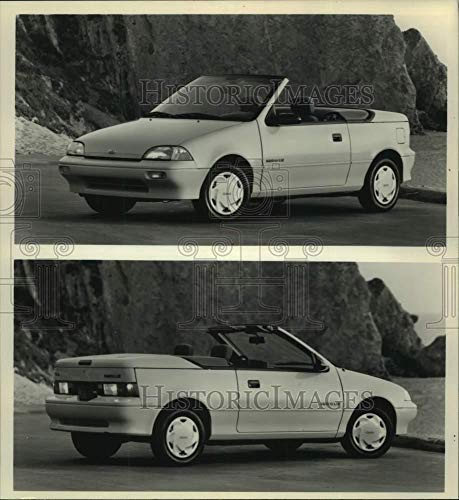 (1990 Press Photo General Motors Geo Metro LSi convertible - mjc30818)