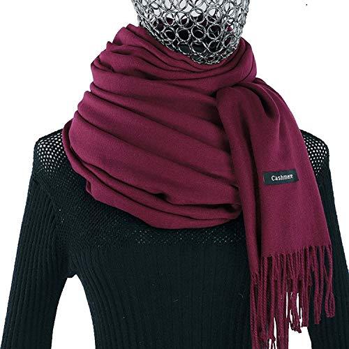 d6d14618b9190 Women cashmere scarf winter luxury pashmina schal ladies scarves brand  oversize