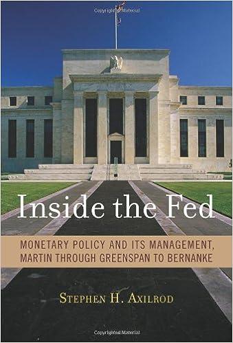 Downloads ebøger pdf Inside the Fed: Monetary Policy and Its Management, Martin through Greenspan to Bernanke på Dansk PDF DJVU 0262012499