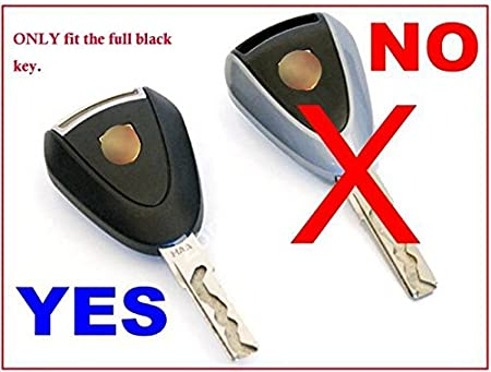 Be sure check fitment before you buy zorratin 100/% Real Pure Carbon Fiber Key Case Cover w//Key Chain for Porsche 997 911 Boxster 987 Cayman