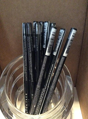 Avon True color Glimmersticks Waterproof Eye Liner BLACKEST NIGHT Lot 10 pcs. (Perfect Eyeliner Avon)
