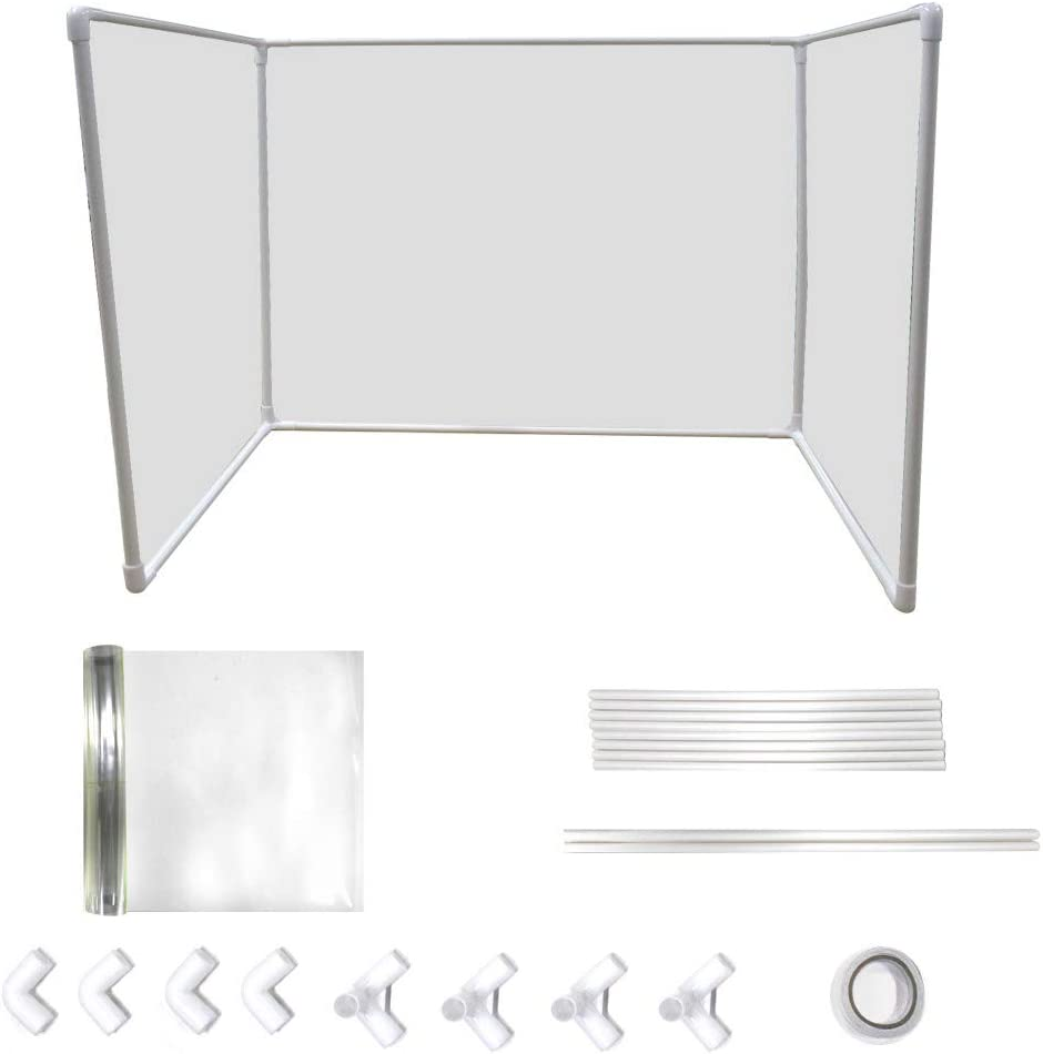 """kjhgk 21"""" L × 16"""" W Desk Dividers Transparent Isolation Board Office Divider Partition Desktop Privacy Panel for Student Call Centers/Offices/Braries/Classrooms/Library Privacy Board"""