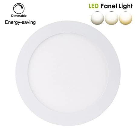 B right led round panel recessed light 9w 5 inch dimmable ultra b right led round panel recessed light 9w 5 inch dimmable aloadofball Images