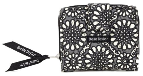 Bella Taylor Chartreuse Quilted Cotton Small Wallet ()