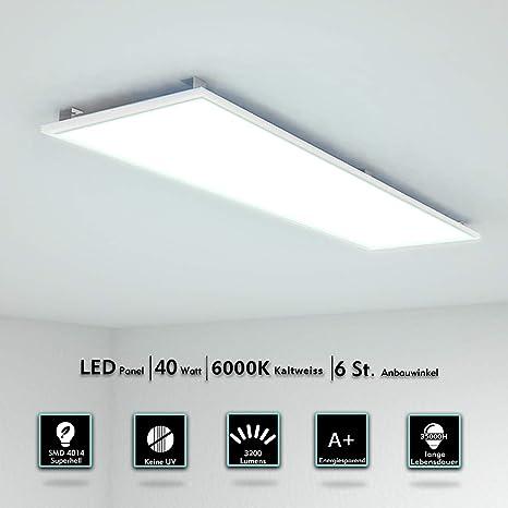 LED 120X30CM Luz del Panel 40W Ultra-delgado lámpara de ...