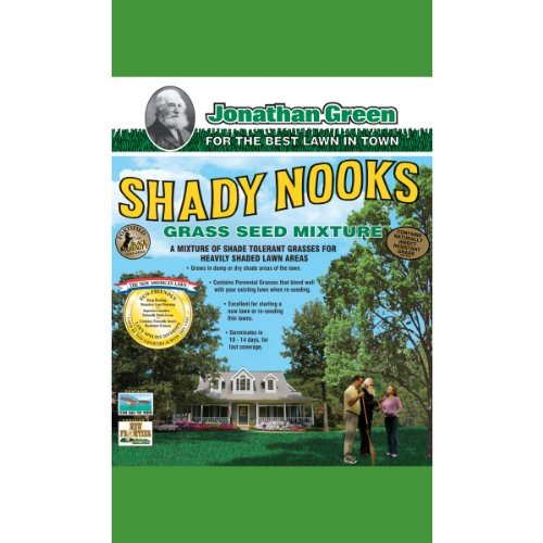 Jonathan Green 11957 Shady Nooks Grass Seed Mix, 3 (3 Lb Shady Grass Seed)