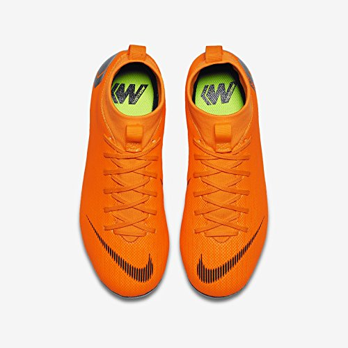 Superfly MG Black GS Academy 5Y 6 JR Mercurial Total NIKE Orange qzYfUEw