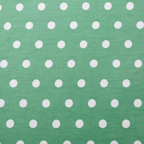 UOMNY Changing Pad Cover 100% Natural Cotton Soft Mini Crib Sheets for Boys and Girls 1 Pack 32×16 Inch Unisex Change Pad Sheets Green Dot