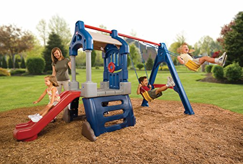 Amazon Com Little Tikes Clubhouse Swing Set Toys Games