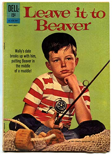 Dell Tv Comic Book - Leave It To Beaver Dell TV Comic Book 1962- Jerry Mathers VG/F