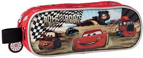 Disney Cars Rayo Estuche de Doble Compartimento, Color Rojo: Amazon.es: Equipaje