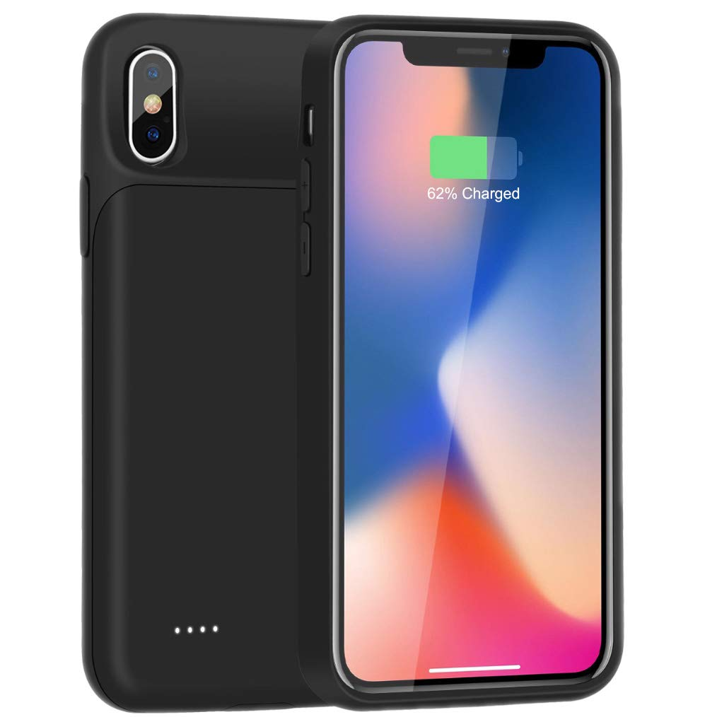Funda Con Bateria de 3200mah para Apple Iphone X/Xs ATTOM TECH [7L4L9C9F]