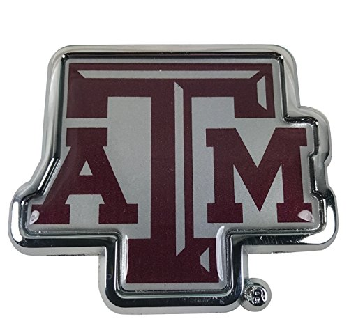 Texas A&M Aggies METAL Auto Emblem with Colors