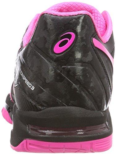 solution Pinksilver Tennis De Chaussures Gel Speed Hot 9020 Noir Femme 3 Asics black npwZaxPH