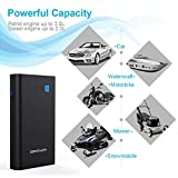 DBPOWER 500A 10800mAh Portable Car Jump Starter (up to 3.0L Gas/ 2.0L Diesel Engine), Emergency Battery Booster Pack, Power Bank Portable Charger with QC3.0, Type-C Output, LED Flashlight with 3 Modes