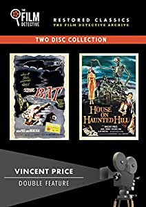 Vincent Price Double Feature Dvd