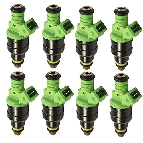 42lb 440cc EV1 Fuel Injectors for GM LT1 LS1 LS6 Ford Mustang SOHC DOHC Set ()