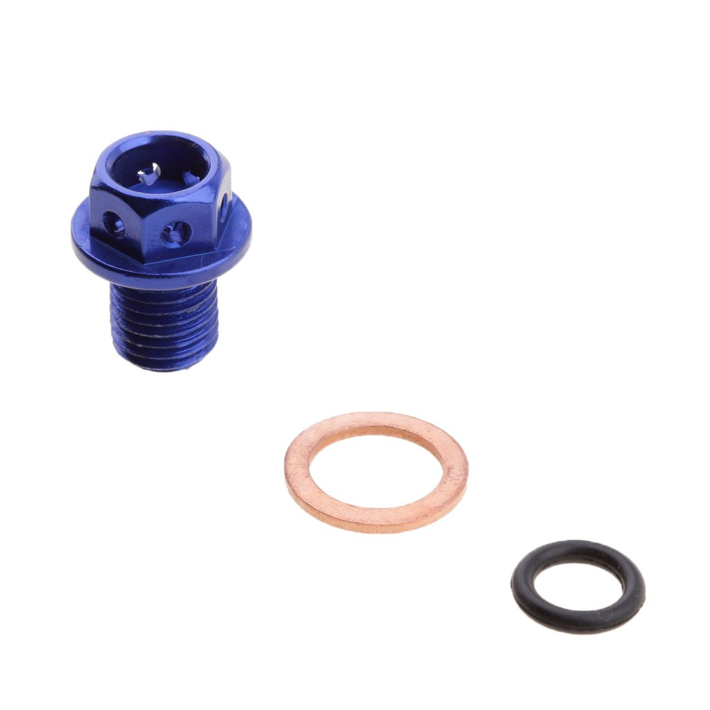 Baoblaze Tornillo Motor Magn/ético C/árter de Aceite Herramienta para Veh/ículos Color Azul
