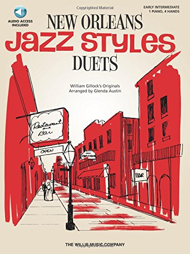New Orleans Jazz Styles Duets - Book/Online Audio: National Federation of Music Clubs 2014-2016 Selection Early Intermediate ()