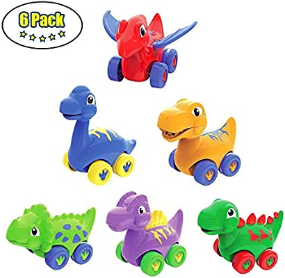Lukat Baby Dinosaur Toys For 1 2 3 Year Old Toddlers Pull Back
