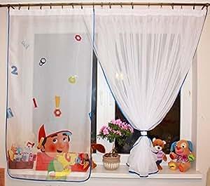 New disney para ni os handy manny ventana paneles cortinas - Cortinas infantiles disney ...