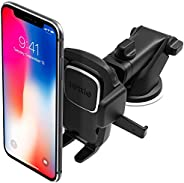 iOttie Easy One Touch 4 Dash & Windshield Car Mount Phone Holder Desk Stand Pad & Mat for iPhone, Sams