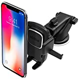 #9: iOttie Easy One Touch 4 Dashboard & Windshield Car Mount Phone Holder for iPhone X 8 Plus 7 6s SE Samsung Galaxy S9 S8 Edge S7 S6 Note 8 & other Smartphone