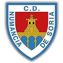 fan products of Numancia de Soria FC Spain Soccer Football Art Decor Vinyl Sticker 4'' X 5''