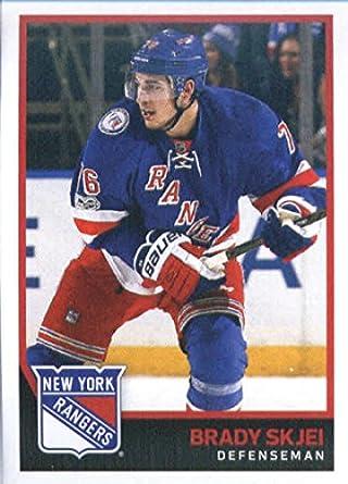 2017-18 Panini Stickers  143 Brady Skjei New York Rangers Hockey Sticker 0fbe11b75