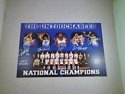 """The Untouchables"" - Multi Signed 11x17 UK Kentucky Wildcats Photo / Poster w/ COA"