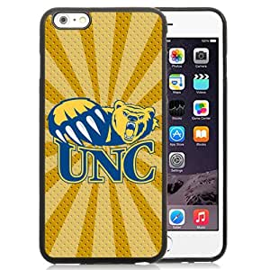 Fashionable And Unique Custom Designed With NCAA Big Sky Conference Football Northern Colorado Bears 4 Protective Cell Phone Hardshell Cover Case For iPhone 6 Plus 5.5 Inch Black