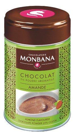 Chocolate en polvo aromatizante almendra Monbana 250 gr