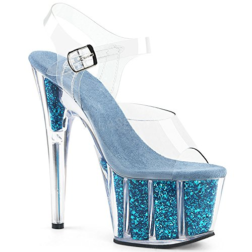de tacón Toe Moda de Violet Zapatos con Cristal Toe Europea YMFIE Tacones Sexy Boda carácter Boda Zapatos Sandalias Alto 7qpdO