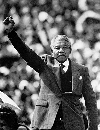 Mandela Photo Nelson (Nelson Mandela Photo Print (8 x 10))