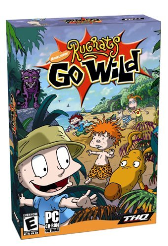 Rugrats Go Wild Games (Rugrats Go Wild - PC by THQ)