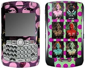 MusicSkins, MS-RONE70006, Ron English - Marilyn Warhol Style, BlackBerry Curve (8300/8310/8320), Skin