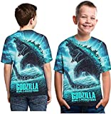 Forlove365 Godzilla King of The Monsters T-Shirt 3D