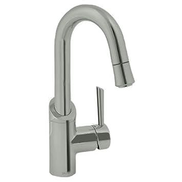 Jado 800/830/355 Coriander Bar Faucet, UltraSteel - Bar Sink Faucets ...