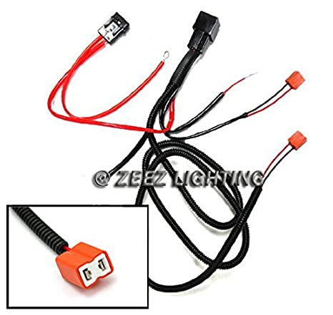 Amazon.com: ZEEZ DRL - H1/H3/H7/5202 Relay Harness Wire Kit ... on